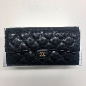 Chanel Classic Black Flap Wallet